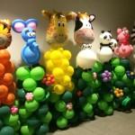 Balloon Animals Pillars