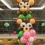 Balloon Bear Column