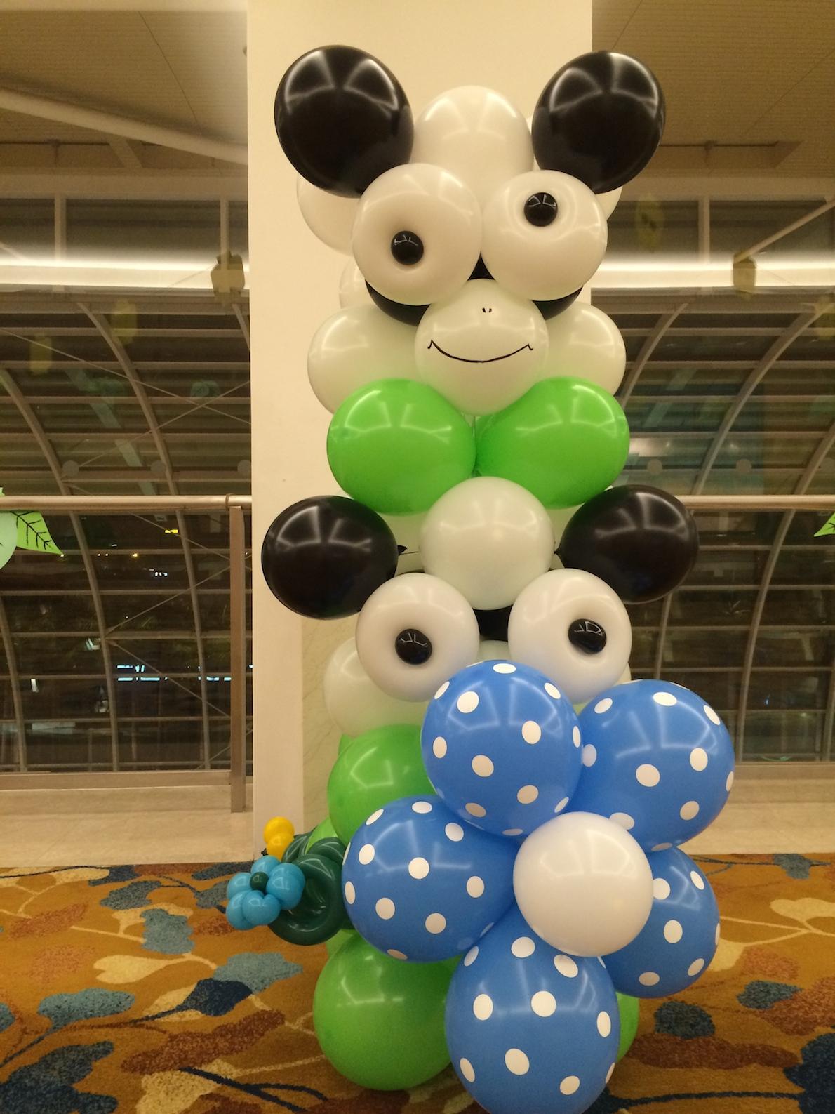 Balloon Cow Column That Balloons
