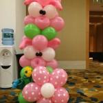 Balloon Pig Column
