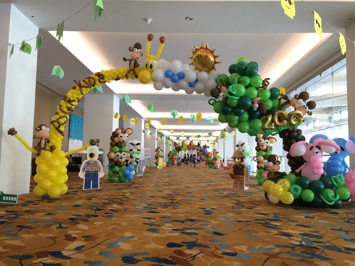 Balloon arch archives that balloonsthat balloons for Baby shower decoration singapore