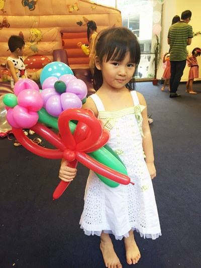 Balloon Flower Bouquet Singapore