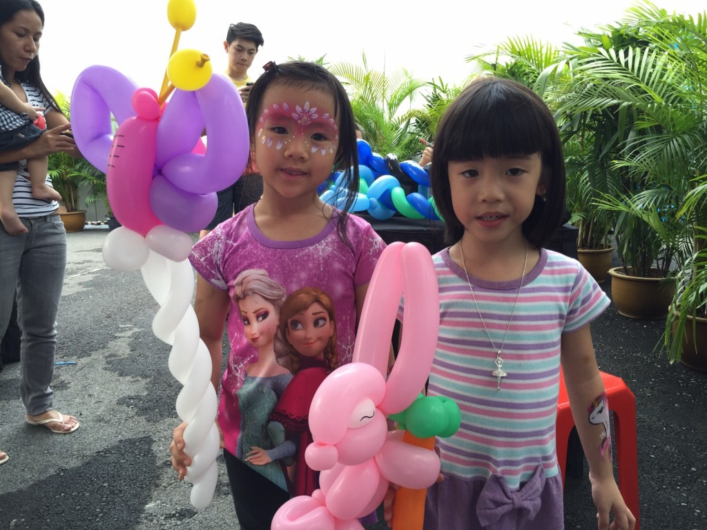 Balloon Sculptures Event Singapore