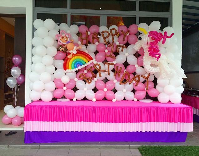 Girls Birthday Party Decoration