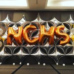 Stage Backdrop Balloon Decorations