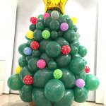 Balloon Christmas Tree Decorations