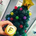 Christmas Balloon Tree Fendi