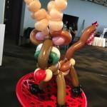 Raindeer Balloon Sculpture
