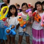 Birthday Party Balloon Sculpting