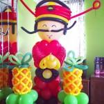 Cai Shen Ye Balloon Sculpture 761x1024