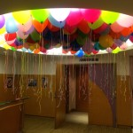 Colourful Floating Balloons 1024x768