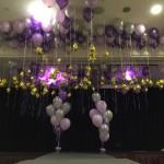 Helium Balloons with Stars Decorations 1024x768