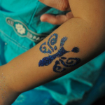 Singapore Glitter Tattoo Service 1