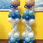 Baby Shower Balloon Columns