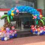 Sea Creatures Balloon Arch