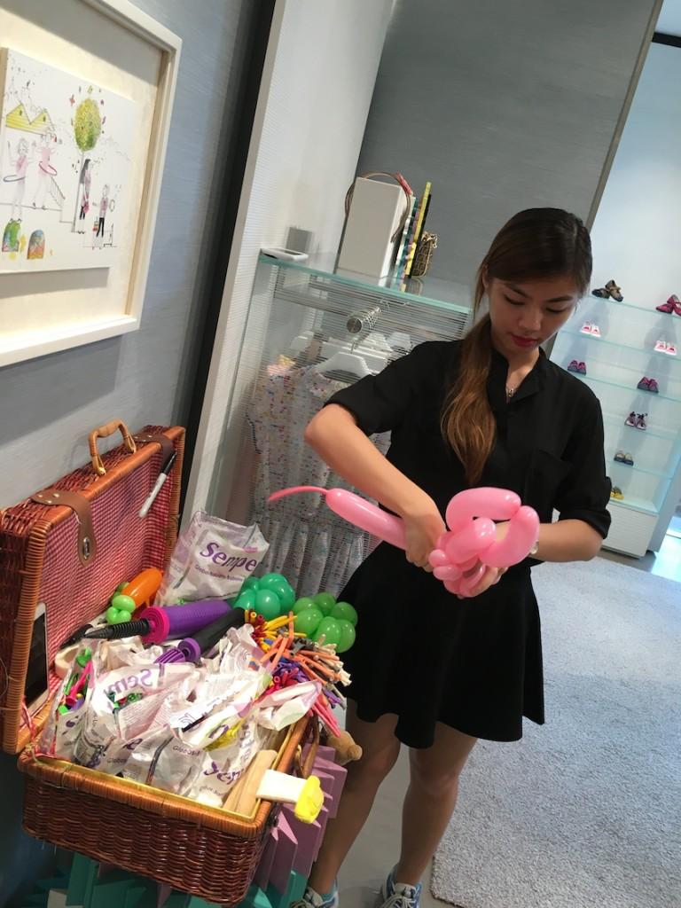 Balloon Artist at Fendi