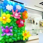 Balloon Backdrop Fendi Singapore
