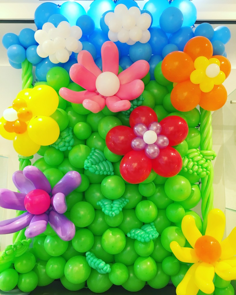 Balloon Flower Backdrop