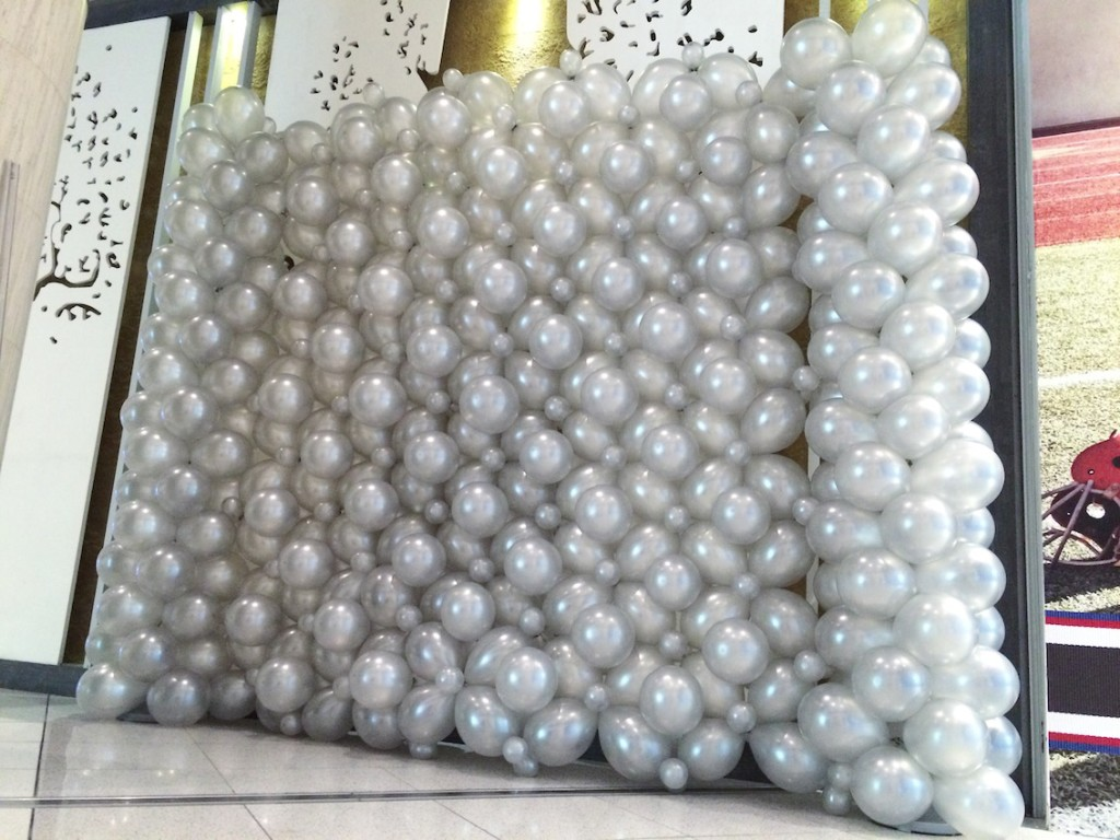 Balloon Wall Backdrop
