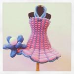 Balloon dress decorations