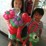 Balloons Sculpting for birthday party Singapore