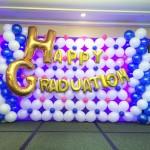 Happy Graduation Balloon Backdrop Singapore