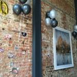 Helium balloon decor