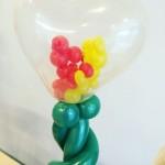 Valentines Day Balloons Sculpture