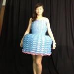 balloon dress by balloon artist