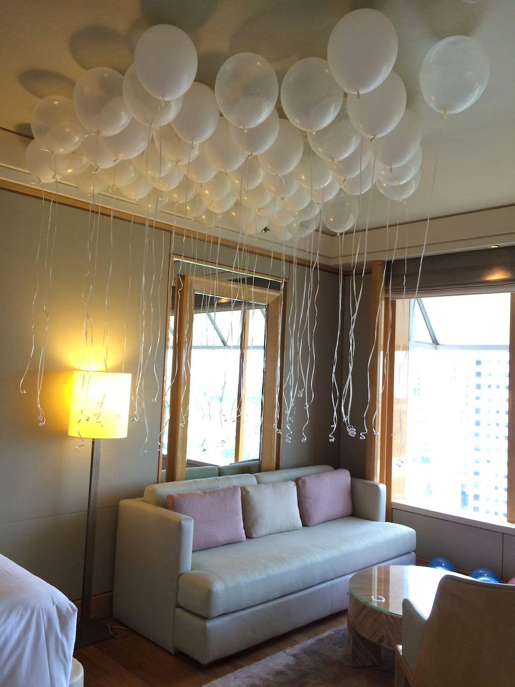Birthday Party Hotel Room