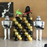 starwars balloon decorations