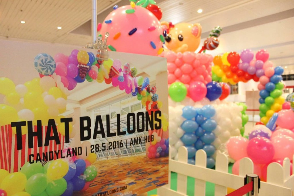 AMK Hub Balloon Candy Land