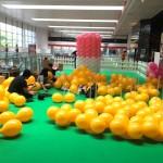 AMK Hub Balloon candyland set up