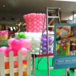 AMK Hub Candy Land Balloon Set up