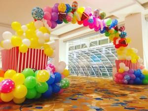 Balloon Candy Arch Singapore