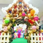 Balloon Candy House