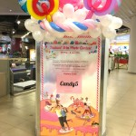 Balloon Decorations for banner stand