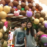 Balloon House Sculpture