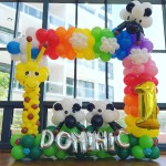 Rainbow Balloon Photo Frame