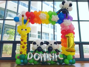 Balloon Rainbow Photo Frame