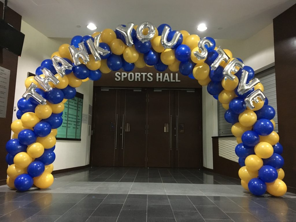 Custom Balloon Sprial Arch Singapore