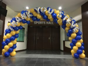 Custom Balloon Sprial Arch Singapore