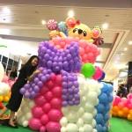 Kelly Sashimi Balloon Cake