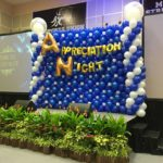 Large Balloon Stage Backdrop