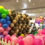 Large Scale Balloon Set up
