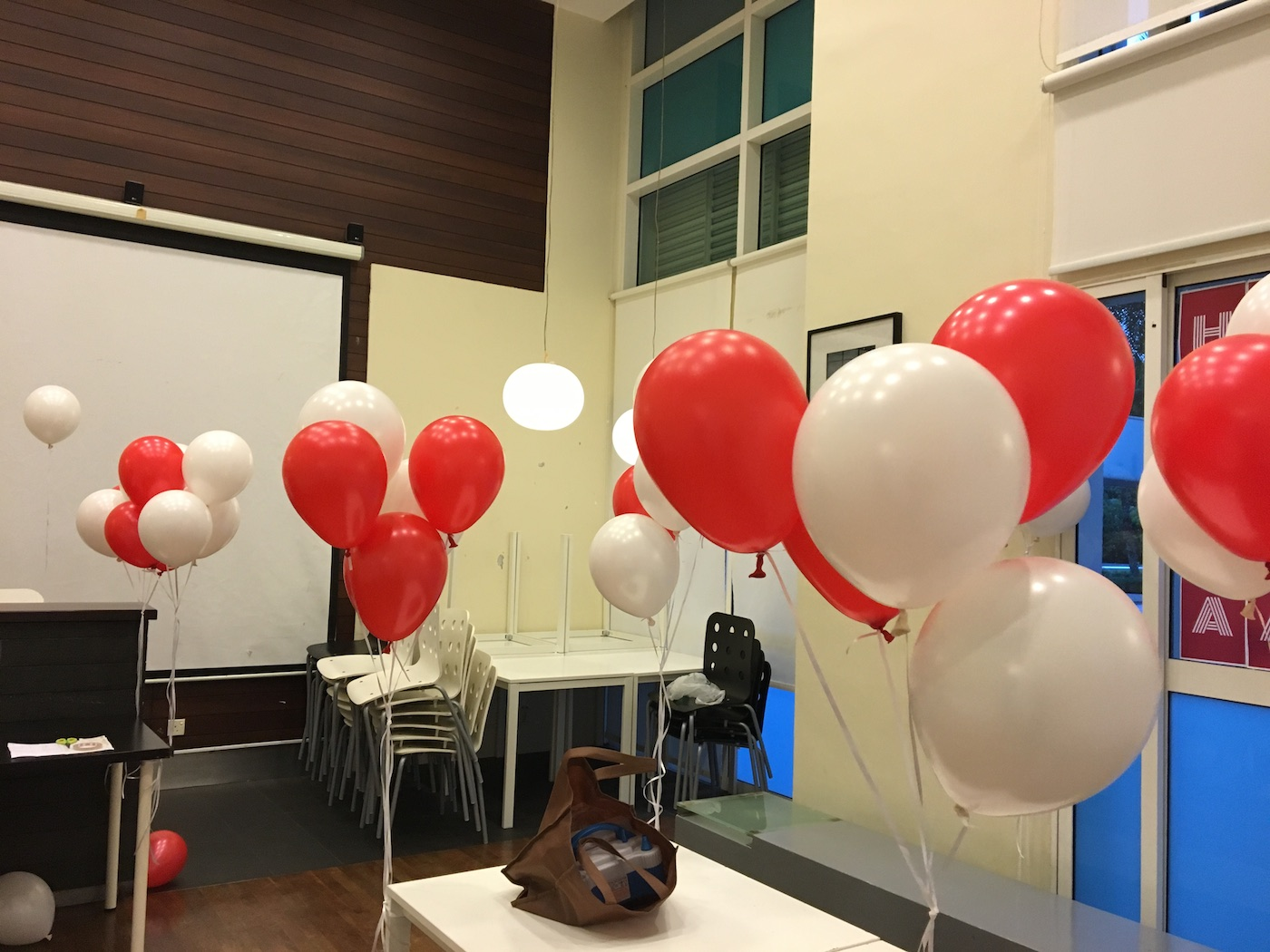 Red And White Balloon Helium That Balloons