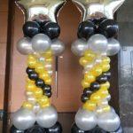 Star Balloon Pillars