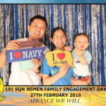 Navy Family Day Photo Booth