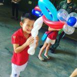 Balloon Aeroplane Sculpture