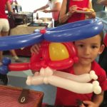 Balloon Helicopter Sculpture